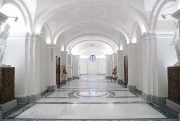 Uroczyste otwarcie Dolnego Kościoła Parafii Wszystkich Świętych w  Warszawie