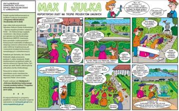 Poznajcie Maxa i Julkę – bohaterów komiksów dla dzieci