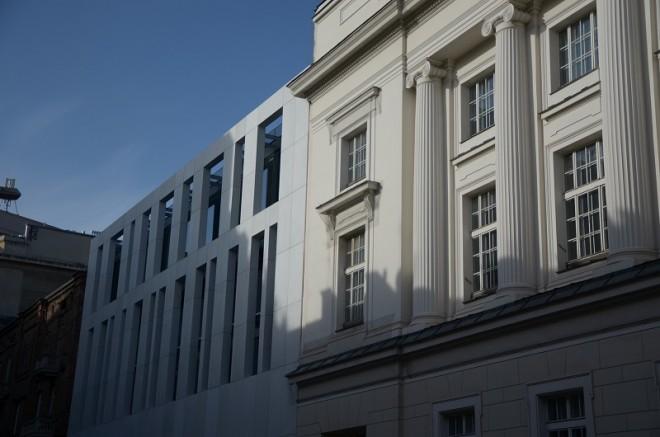 Zakończenie II etapu przebudowy  Biblioteki Publicznej m.st. Warszawy - Biblioteki Głównej Województwa Mazowieckiego w Warszawie